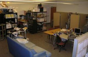 Main lab in Engineering 2, 316